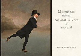 Masterpieces from the National Galleries of Scotland Book of Postcards AA87 by