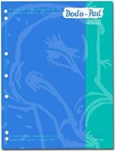 Dodo Pad A4/USA Letter/Filofax-Compatible 2018 Diary Refill, Week to View Diary (Fits 2/3/4 Ring Binders)
