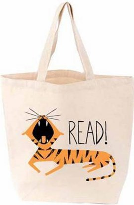 LittleLit Tote Tiger Read by