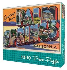 Greetings from Palm Springs Puzzle by