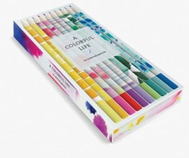 A Colorful Life Pencils by Susan Hable