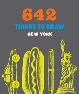 642 Things to Draw: New York (pocket size) by Chronicle Books