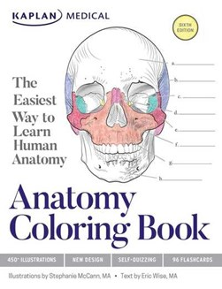 Anatomy Coloring Book by Stephanie McCann