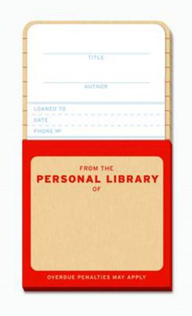 Knock Knock Personal Library Kit Refill by