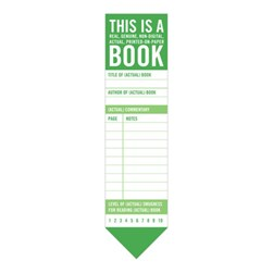 Knock Knock This is a Book Bookmark Pad by Knock Knock