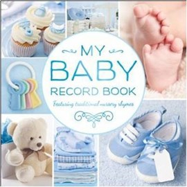 My Baby Record Book Blue by