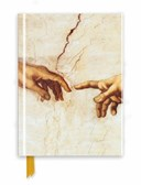 Michelangelo: Creation Hands (Foiled Journal)