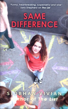 Same Difference P/B by Siobhan Vivian