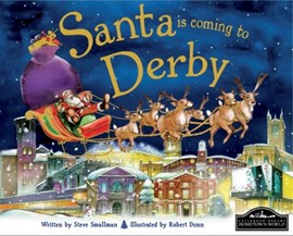 Santa is coming to Derby by Steve Smallman