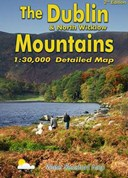 The Dublin & North Wicklow Mountains: Detailed Map