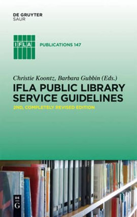 IFLA public library service guidelines by Christie Koontz