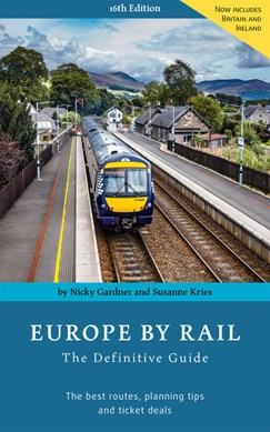 Europe by rail by Nicky Gardner