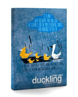 The Ugly Duckling Paperback Journal by PublikumArt