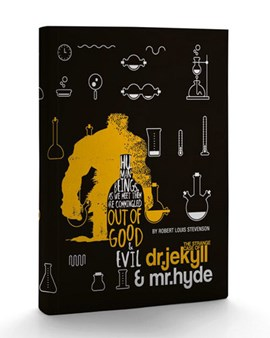 Dr. Jekyll & Mr. Hyde Paperback Journal by PublikumArt