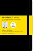 Moleskine Soft Large Squared Notebook Black
