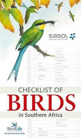 Checklist of Birds in Southern Africa by Birdlife South Africa