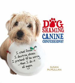 Dog shaming by Susan McMullan