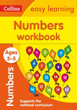 Numbers. Ages 3-5 Workbook by Collins Easy Learning