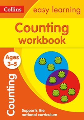 Counting. Age 3-5 Workbook by Collins Easy Learning