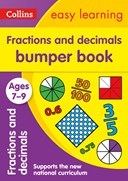 Fractions and decimals bumper book. Ages 7-9