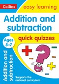 Addition & subtraction quick quizzes. Ages 5-7
