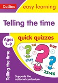 Telling the time quick quizzes. Ages 7-9