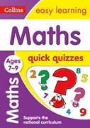 Maths quick quizzes. Ages 7-9