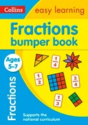 Fractions bumper book. Ages 5-7