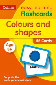 Colours and Shapes Flashcards by Collins Easy Learning