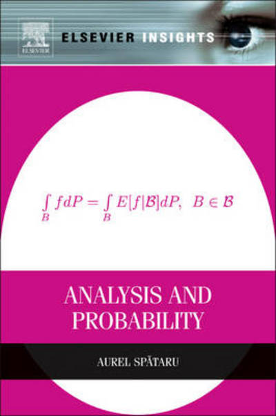 Analysis and Probability (Elsevier Insights)
