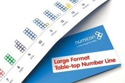 Numicon: Large Format Table Top Number Line