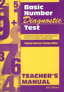 Basic Number Diagnostic Test PK 10 by Bill Gillham