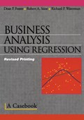 Business analysis using regression