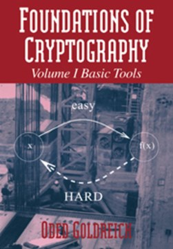 Foundations of cryptography by Oded Goldreich