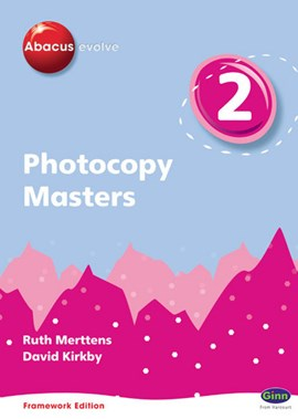 Abacus Evolve Y2/P3 Photocopy Masters Framework Edition by Ruth Merttens