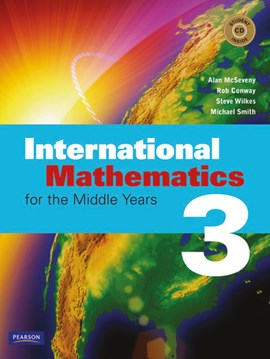International mathematics for the middle years 3 by Alan McSeveny