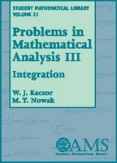 Problems in Mathematical Analysis, Volume 3