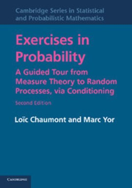 Exercises in probability by Loïc Chaumont