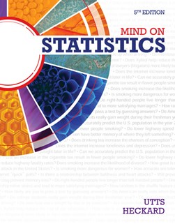 Mind on statistics by Jessica M Utts