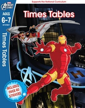 The Avengers. Ages 6-7 Times tables by Scholastic