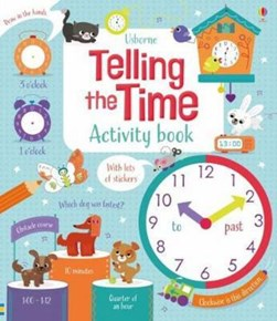 Telling the Time Activity Book by Bryan Lara