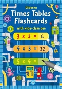 Times Tables Flash Cards by Kirsteen Robson