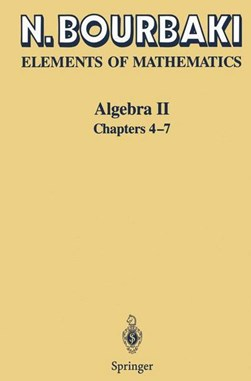 Elements of mathematics by N. Bourbaki