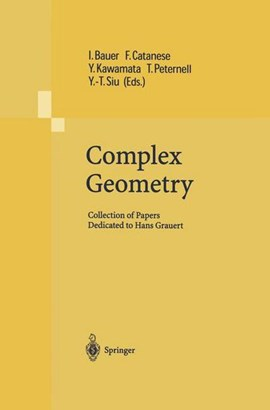 Complex Geometry by Ingrid Bauer