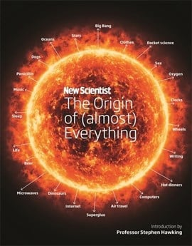 The origin of (almost) everything by Stephen Hawking