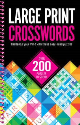 Large Print Crosswords by Igloo Books