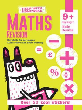 Help With Homework Maths Revision 9plus (FS) by Igloo Books