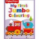 Fisher Price My First Jumbo Childrens Colouring Book Activity