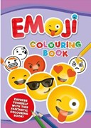 Emoji Jumbo Colouring Book