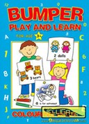 Bumper Play & Learn Colouring Book